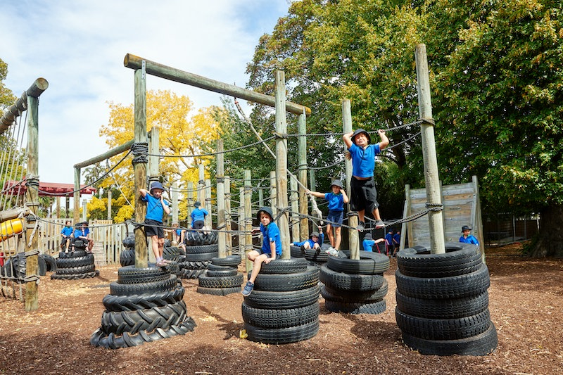 Our Playground, Whitney Street School
