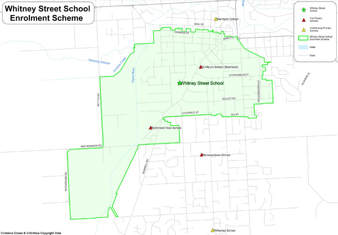 School Zone, Whitney Street School